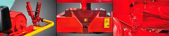 enrubanneuses Supertino version trainé et semi-porté(COUZON)