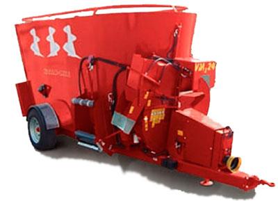 mélangeuse VM3 3 vis avec turbine de paillage
